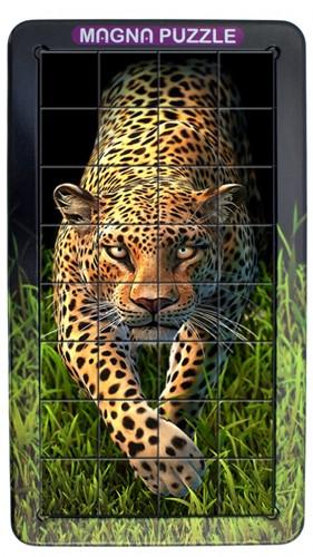 3D Magna Puzzle Portrait - Leopard (32 stukjes)