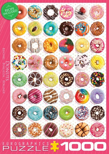 Donuts Puzzel (1000 stukjes)