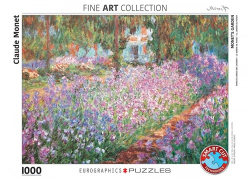 Monet's Garden - Claude Monet Puzzel (1000 stukjes)