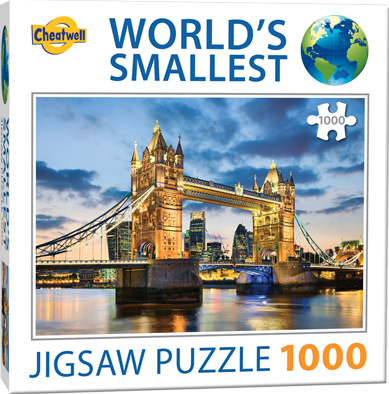 World's Smallest - Tower Bridge Puzzel (1000 stukjes)