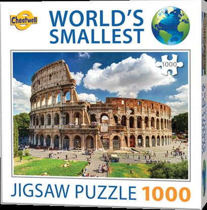 World's Smallest - Colosseum Puzzel (1000 stukjes)
