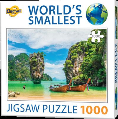 World's Smallest - Phuket Puzzel (1000 stukjes)