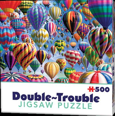 Double-Trouble Puzzel - Balloons (500 stukjes)