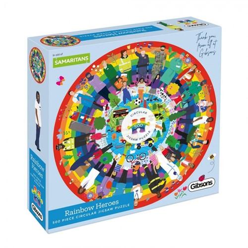 Rainbow Heroes Puzzel (500 stukjes)