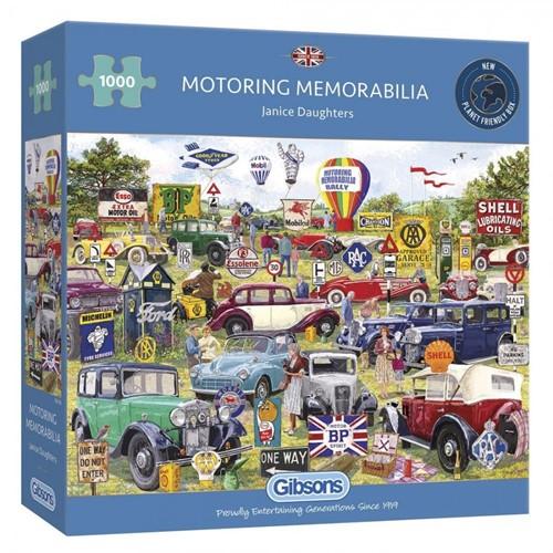 Motoring Memorabilia Puzzel (1000 stukjes)