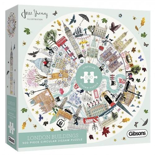 Buildings of London Puzzel (500 stukjes)