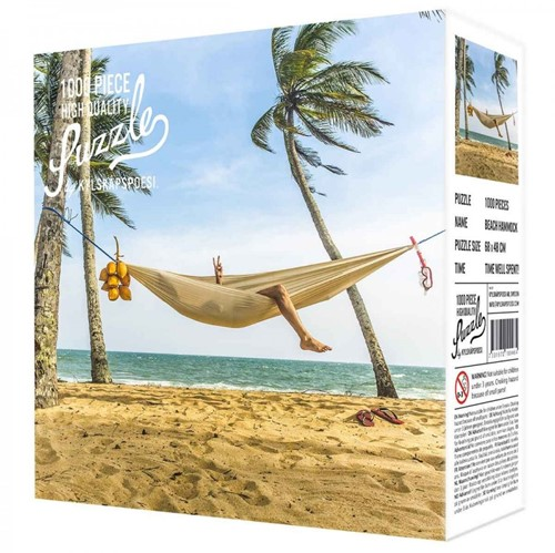 Beach Hammock Puzzel (1000 stukjes)