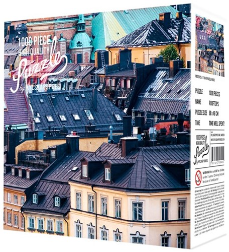 Rooftops Puzzel (1000 stukjes)