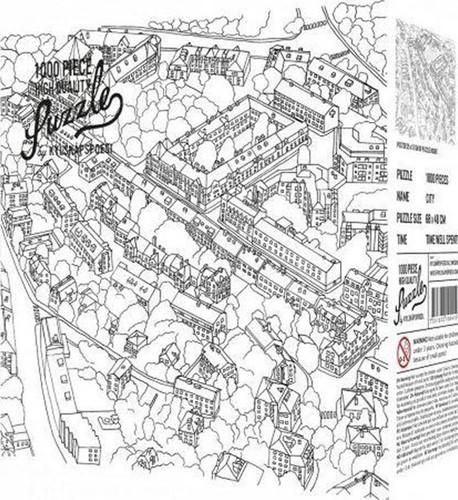 City Sketch Puzzel (1000 stukjes)