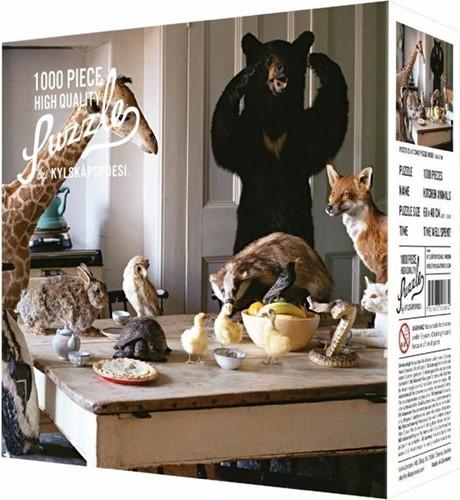 Kitchen Animals Puzzel (1000 stukjes)