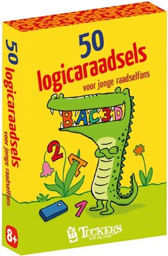 50 Logicaraadsels voor Jonge Raadselfans