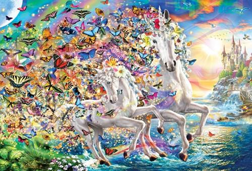 Unicorn Fantasy Puzzel (2000 stukjes)