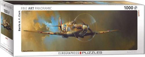 Spitfire - Barrie A.F. Clark Panorama Puzzel (1000 stukjes)