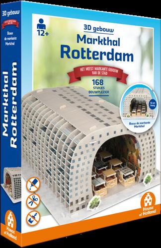 3D Gebouw - Markthal Rotterdam Puzzel (168 stukjes)
