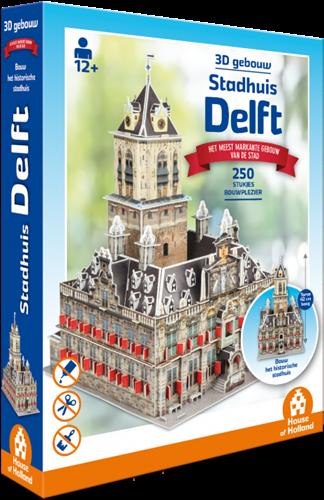 3D Gebouw - Stadhuis Delft (250 stukjes)