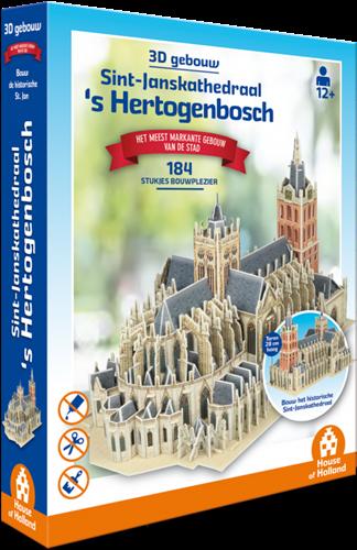 3D Gebouw - Sint-Janskathedraal Den Bosch (184 stukjes)