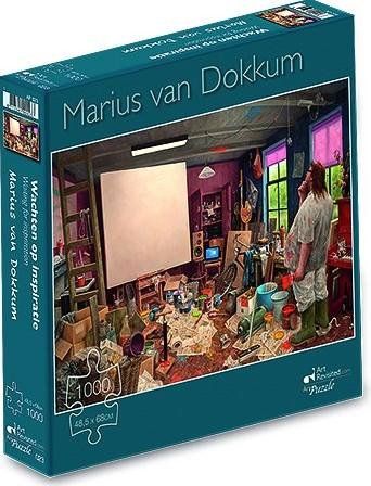 Marius van Dokkum - Wachten op Inspiratie Puzzel (1000 stukjes)