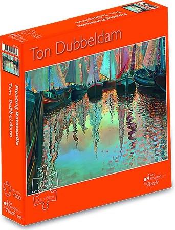Ton Dubbeldam - Floating Ratatouille Puzzel (1000 stukjes)