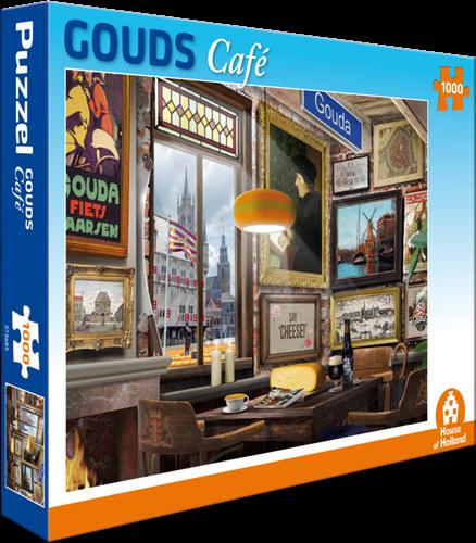 Gouds Café Puzzel (1000 stukjes)