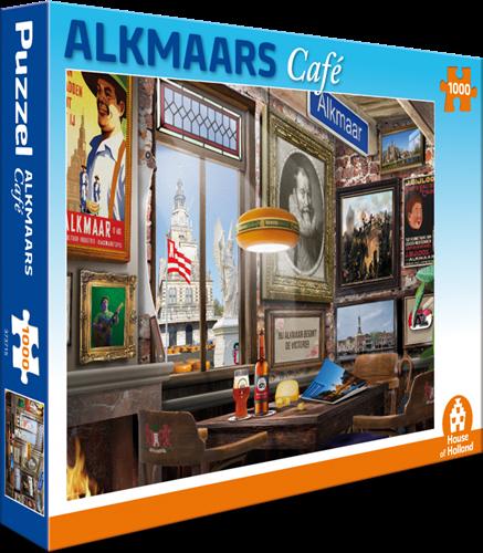 Alkmaars Café Puzzel (1000 stukjes)
