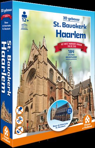 3D Gebouw - St Bavokerk Haarlem (140 stukjes)