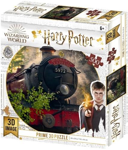 3D Image Puzzel - Hogwarts Express (500 stukjes)