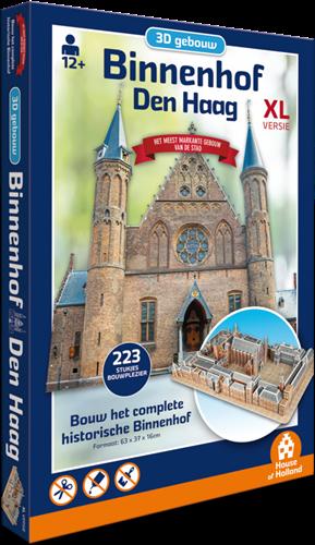 3D Gebouw - Binnenhof Den Haag (223 stukjes)
