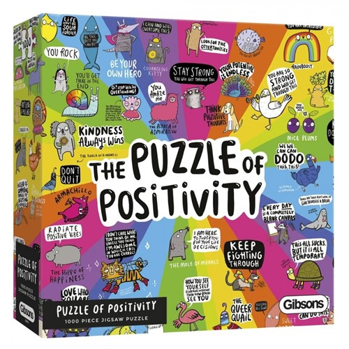 The Puzzle of Positivity Puzzel (1000 stukjes)