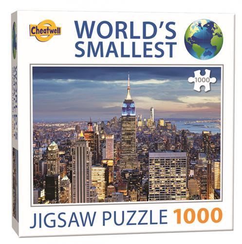 World's Smallest - New York Puzzel (1000 stukjes)