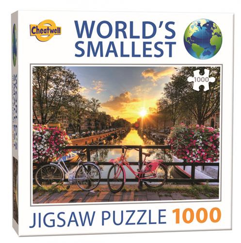 World's Smallest - Amsterdam Puzzel (1000 stukjes)