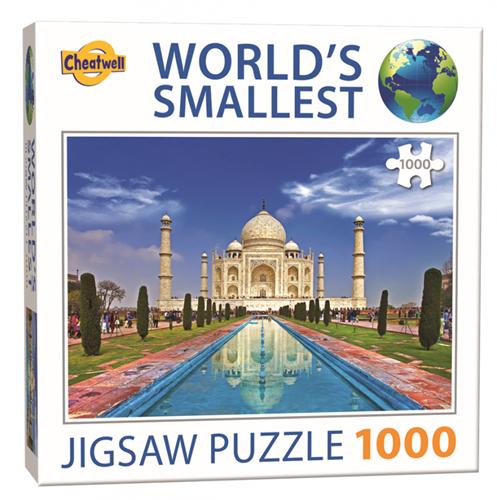 World's Smallest - Taj Mahal Puzzel (1000 stukjes)