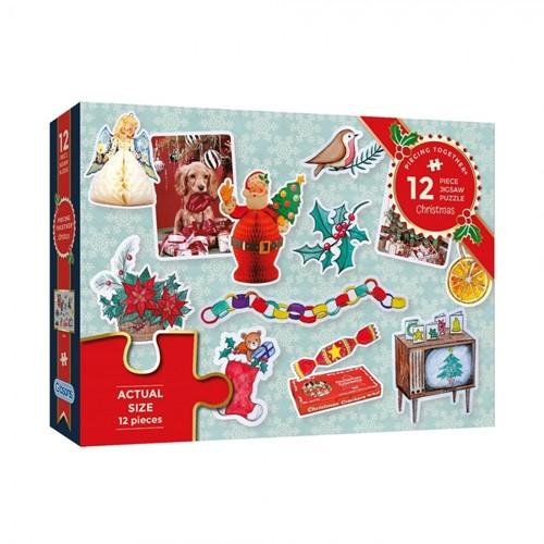 Christmas Puzzel (12 stukjes)