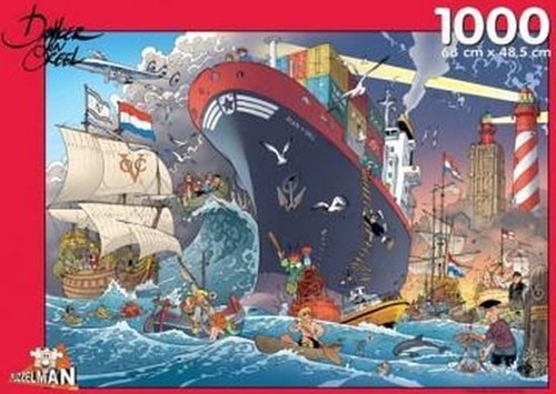 Zeevaart - Danker Jan Puzzel (1000 stukjes)