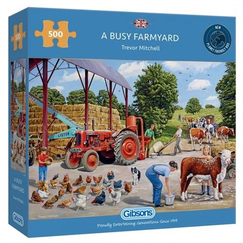 Busy Farm Puzzel (500 stukjes)