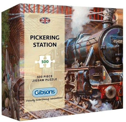 Pickering Station - Gift Box Puzzel (500 stukjes)
