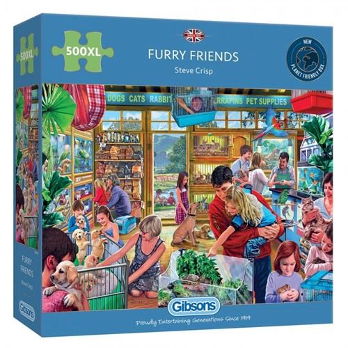 Furry Friends Puzzel (500 XL stukjes)