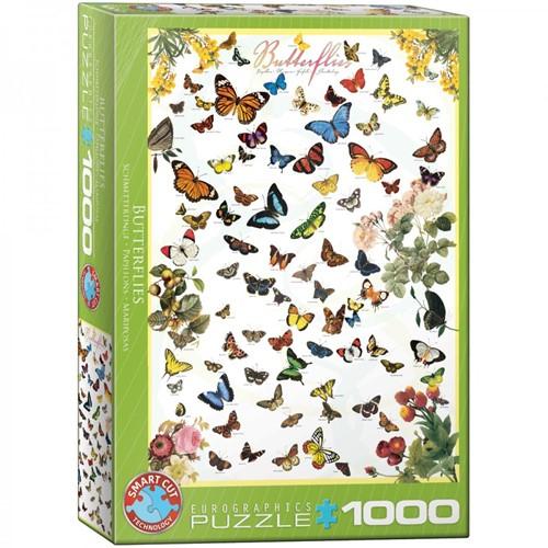 Butterflies Puzzel (1000 stukjes)