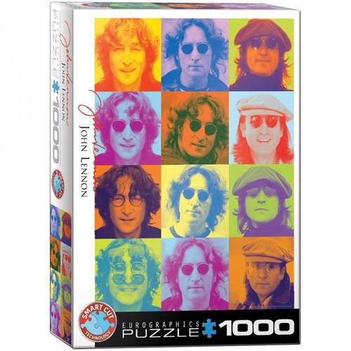 John Lennon Color Portraits Puzzel (1000 stukjes)