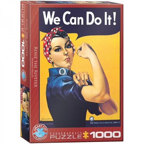 Rosie the Riveter Puzzel (1000 stukjes)