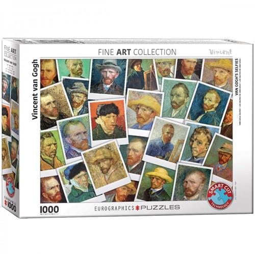 Van Gogh Selfies Puzzel (1000 stukjes)