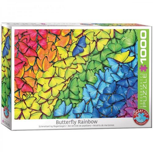 Butterfly Rainbow Puzzel (1000 stukjes)