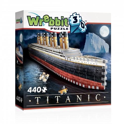 Wrebbit 3D Puzzel - Titanic (440 stukjes)