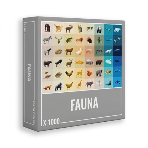 Fauna Puzzel (1000 stukjes)