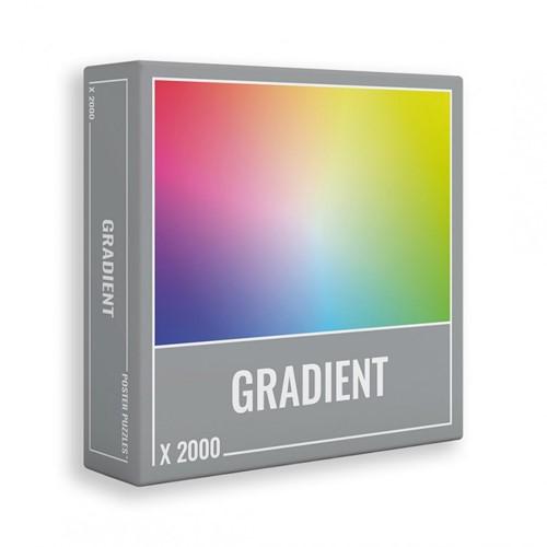 Gradient Puzzel (2000 stukjes)