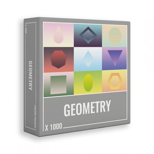 Geometry Puzzel (1000 stukjes)