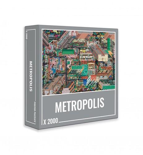 Metropolis Puzzel (2000 stukjes)
