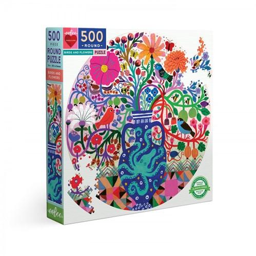Birds and Flowers Puzzel (500 stukjes)