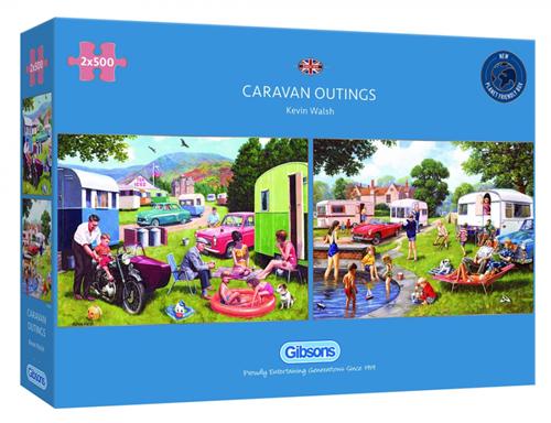 Caravan Outings Puzzel (2 x 500 stukjes)