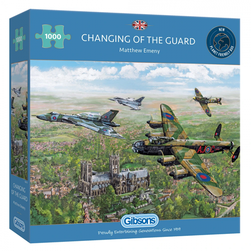 Changing of the Guard Puzzel (1000 stukjes)