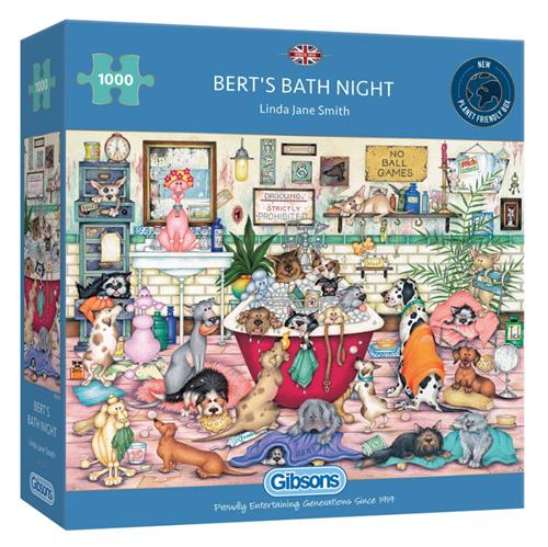 Bert's Bath Night Puzzel (1000 stukjes)